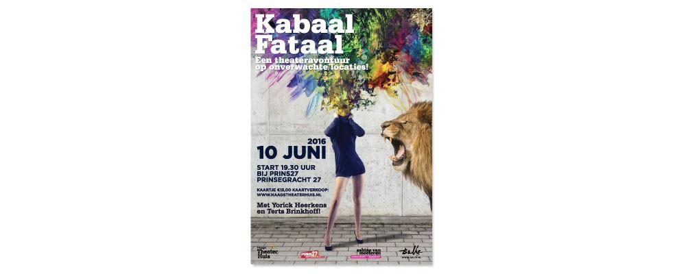 Kabaal Fataal Haags Theaterhuis